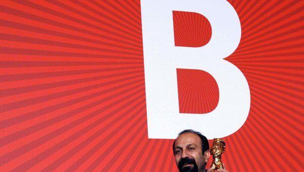 Иранский режиссер Асгар Фархади на Берлинале-2011