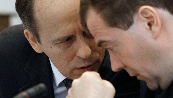 Дмитрия Медведев провел заседание Национального антитеррористического комитета (НАК).