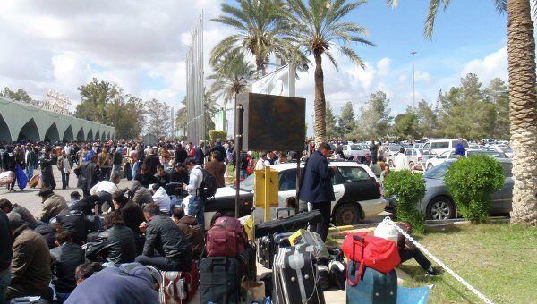 Эвакуация из Ливии иностранных граждан