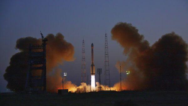 Пуск ракеты-носителя со спутником Глонасс