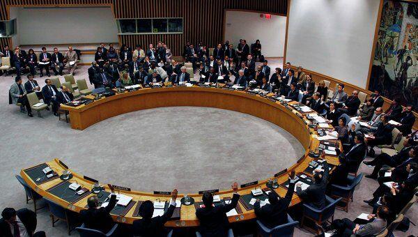 Голосование в СБ ООН по санкциям против режима Каддафи