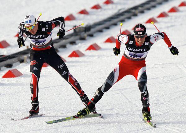 Тино Эдельман (слева) и Марио Штехер