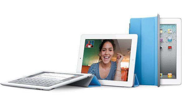 Планшет Apple iPad 2 с защитой для экрана