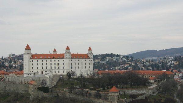 Братиславский Град, Словакия. Архивное фото