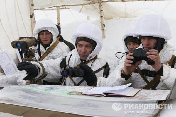 Учения Воздушно-десантных войск (ВДВ) в Рязанской области