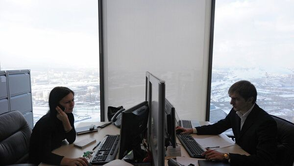 Работа офисов Mirax Group в башне Федерация. Архив