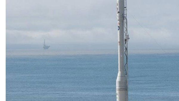 Ракета-носитель Taurus XL с новым спутником Glory