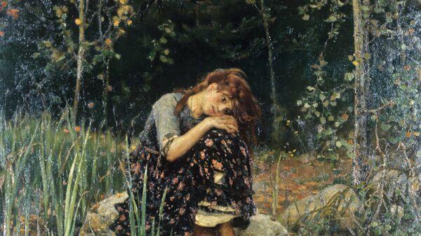 Виктор Васнецов. Аленушка. Холст, масло. 1881 год.