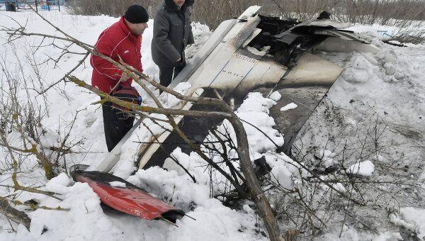 Крушение самолета Ан-148 в селе Гарбузово Белгородской области