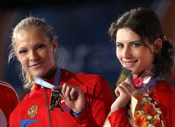 Дарья Клишина и Юлия Пидлюжная