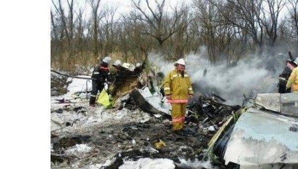 Крушение Ан-148 в Белгородской области