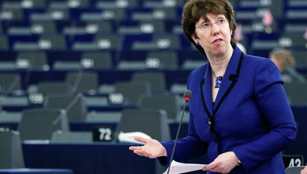 Глава дипломатии ЕС Кэтрин Эштон. Архив