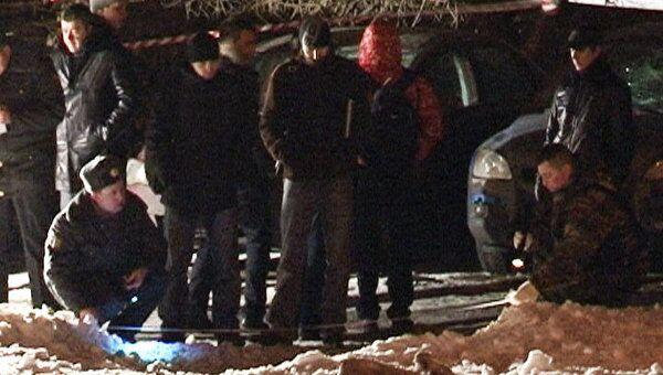 Взрыв у здания академии ФСБ в Москве. Видео с места событий