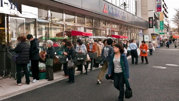 Ситуация в Токио