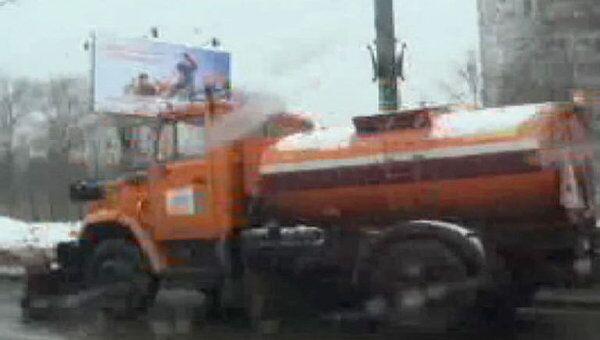 Уборка улиц в Москве