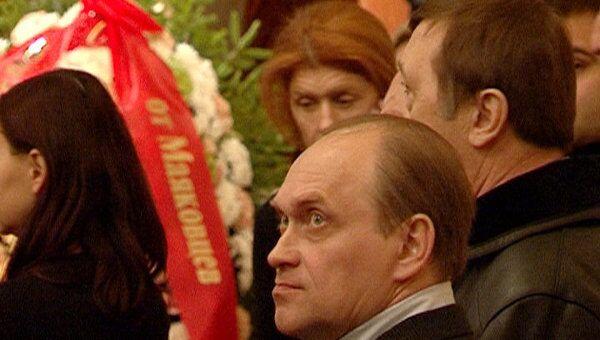 Сотни москвичей пришли проститься с Виталием Вульфом