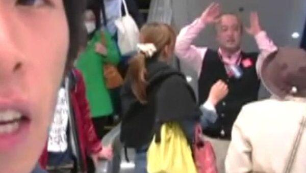 Японец рассказал, как экономят свет и скупают продукты в Токио