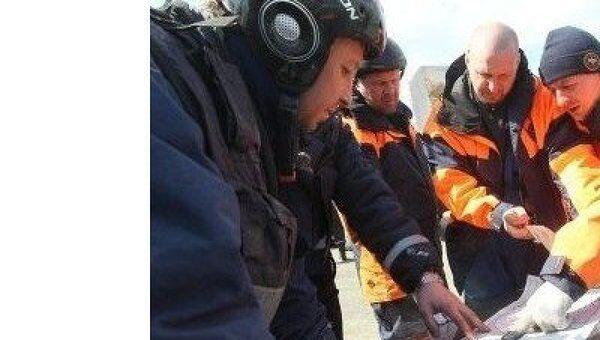 Работа российских спасателей МЧС в Японии