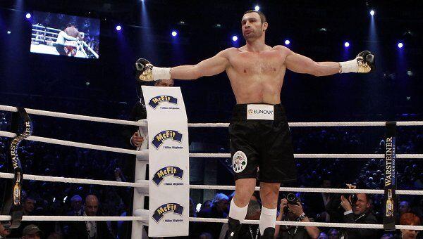 Виталий Кличко защитил титул чемпиона мира по версии WBC