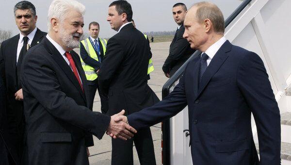 Прибытие премьер-министра РФ Владимира Путина в Белград