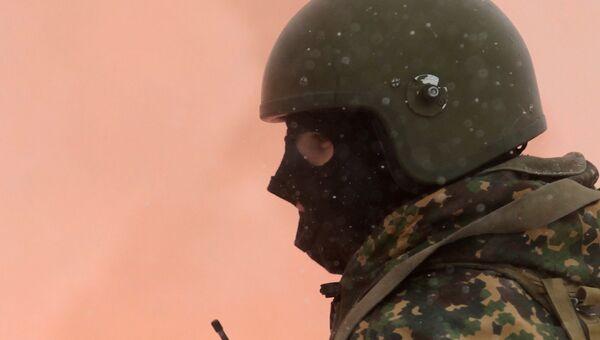 Учения антитеррористических подразделений МВД, архивное фото