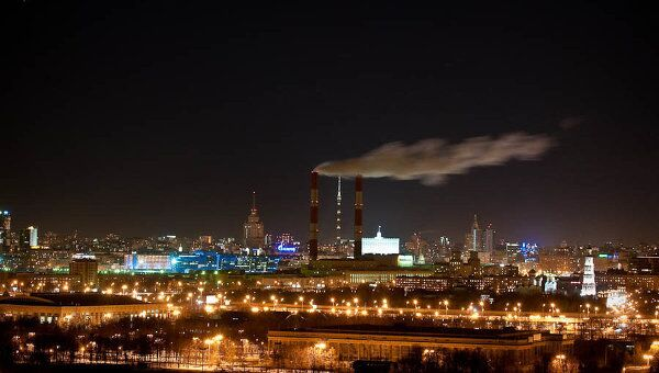 Москва, Час Земли