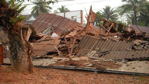 Последствия землетрясения в Мьянме