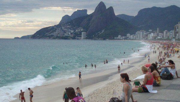 Пляжи Ипанема и Леблон в Рио-де-Жанейро