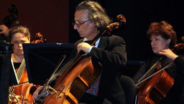 Выступление в Буэнос-Айресе Московского симфонического оркестра