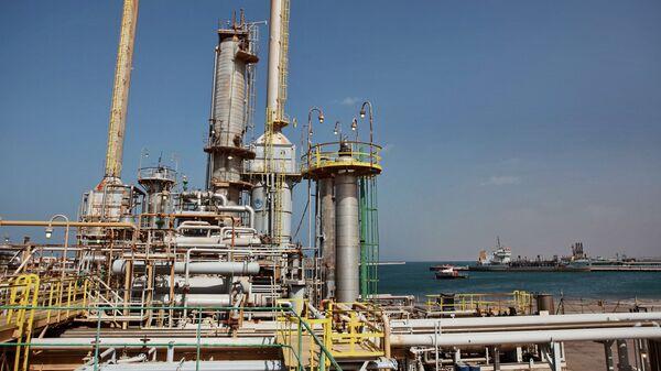 Нефтяной терминал в Ливии