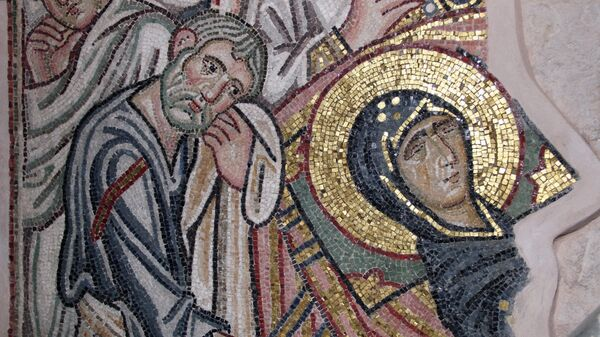Восстановление византийского монастыря Дафни после землетрясения