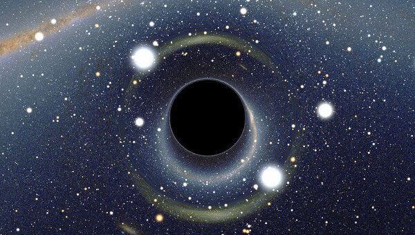 Черная дыра, архивное фото
