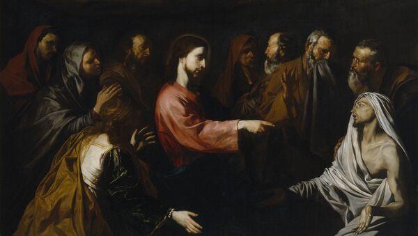 Хосе де Рибера, Воскрешение Лазаря (1616 год)