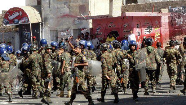 Ситуация в йеменском городе Таиз