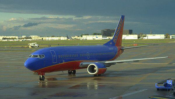 Лайнер компании Southwest Airlines. Архивное фото