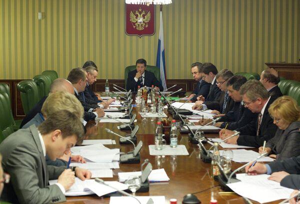 Заседание оргкомитета по проведению ЧМ-2011 по фигурному катанию
