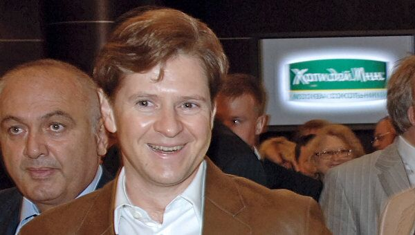 Президент Банка Москвы Андрей Бородин