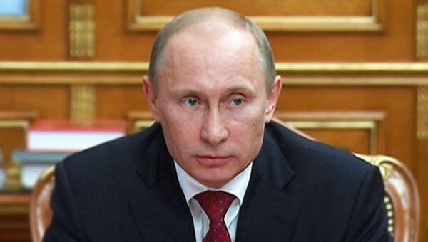 Путин подвел промежуточные итоги программы утилизации автомобилей