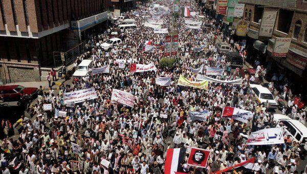 Антиправительственные выступления в Йемене