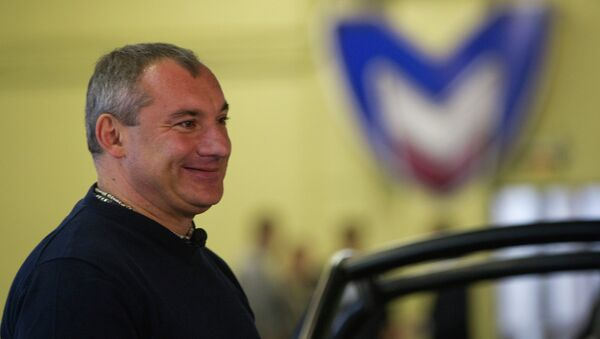 Николай Фоменко. Архивное фото