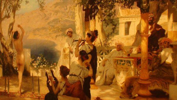 Танец с мечами Генриха Семирадского