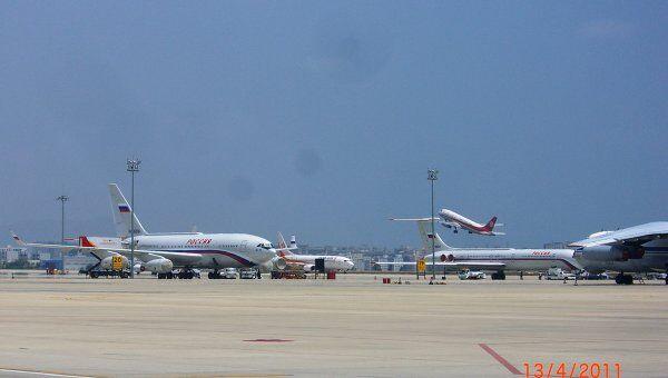 Аэропорт на острове Хайнань. Архив