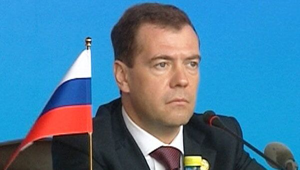 Медведев предложил партнерам по БРИКС вместе справляться с ЧС