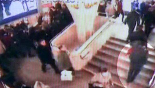 Изображения террористов с камер наблюдения в минском метро