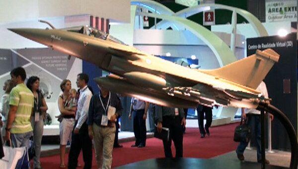 Россия представила свою военную технику на выставке в Рио-де-Жанейро