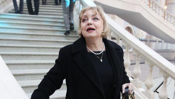Актриса Театра Ленком Елена Шанина