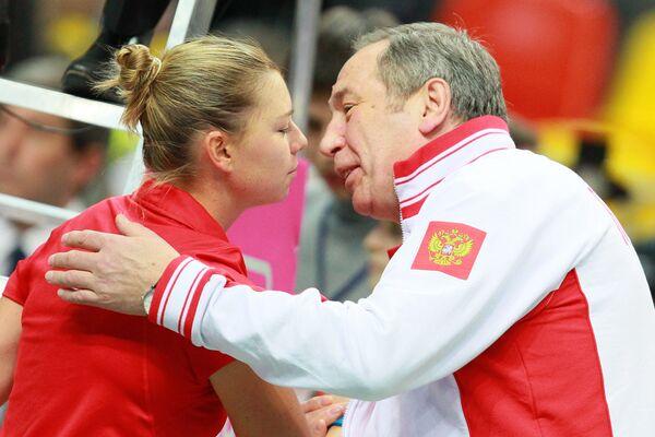 Вера Звонарева и Шамиль Тарпищев (слева направо)