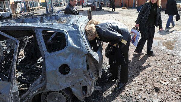 Пожар на газораспределительной станции в поселке Западный Одинцовского района