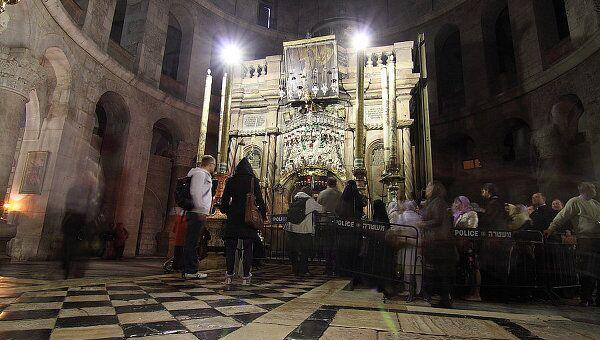 Храм Гроба Господня в Иерусалиме. Архив