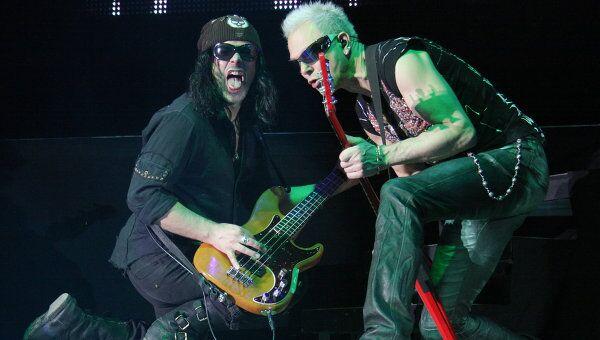 Концерт группы Scorpions.Архив
